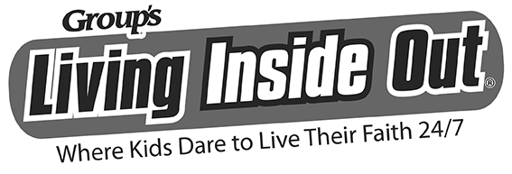 Living Inside Out Logo - Black and White Web