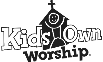 KidsOwn Worship Logo Black and White