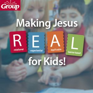 Discover how Group lessons make Jesus R.E.A.L. for kids