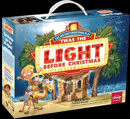 The Instant Christmas Play - Twas the Light Before Christmas Event Kit Box