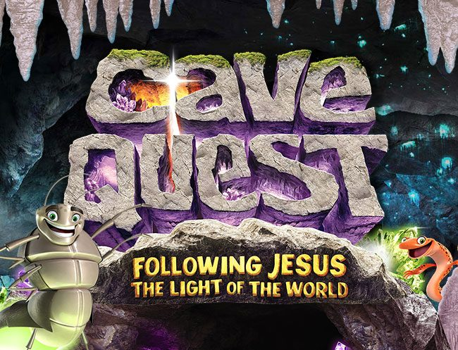 Cave Quest Easy VBS Logo
