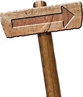 Road to Resurrection Wooden Sign