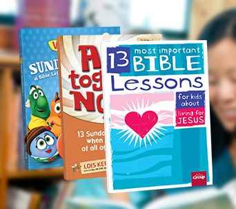 Children's Ministry Lesson Books
