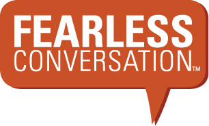 Fearless Conversations Adult Sunday School Logo