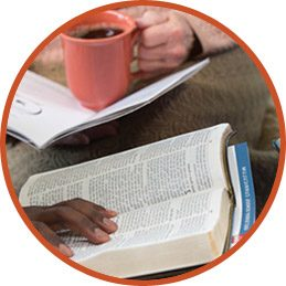 Reading Bible at Adult Small Group