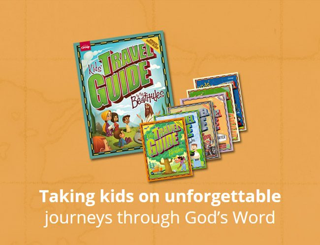 Kids' Travel Guides Lesson Book Set - Taking kids on unforgettable journeys through God's Word