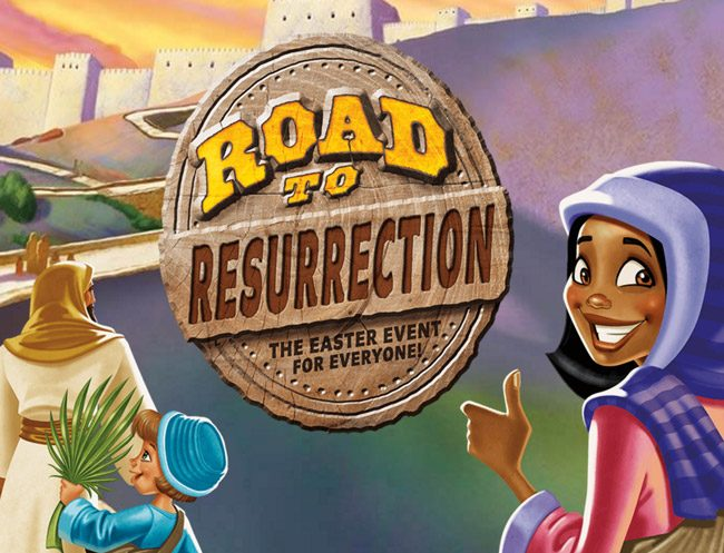 Road to Resurrection Logo