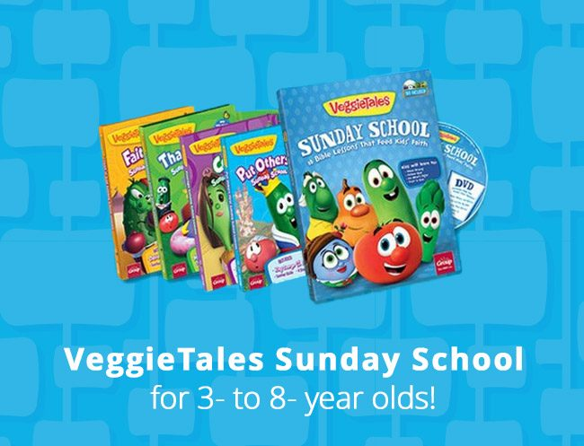 VeggieTales Sunday School Lesson Book Set - VeggieTales is coming to Sunday School
