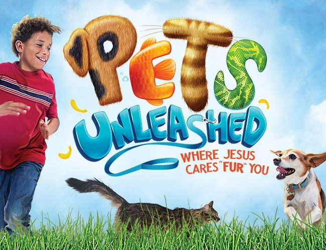 Pets Unleashed Vbs Logo
