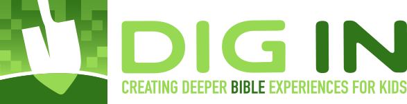 Dig In Digital Sunday School Logo