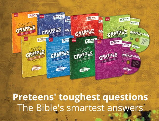 Grapple - preteens; touchest questions, the Bible's smartest answers
