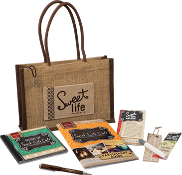 Sweet Life Cafe Per Guest Essentials