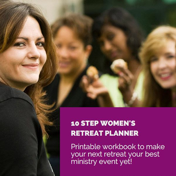 Women's Ministry Retreat Planner