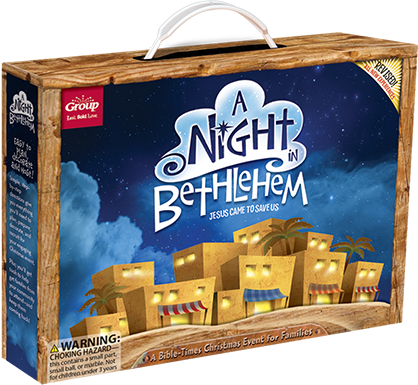 A Night In Bethlehem Christmas Event Starter Kit