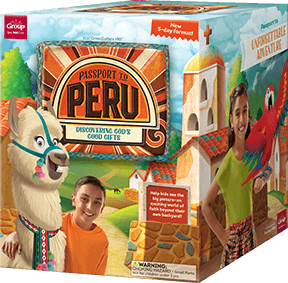 Passport to Peru VBS Starter Kit Group 2017