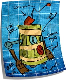 Maker Fun Factory VBS Robot Sketch