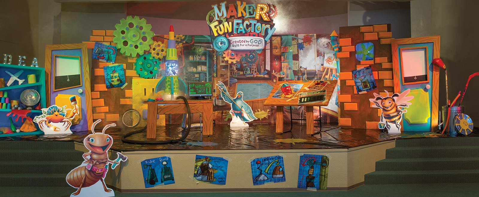 Maker Fun Factory Group Vbs 2017 Theme