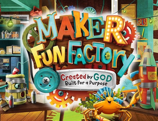 Maker Fun Factory VBS 2017 logo