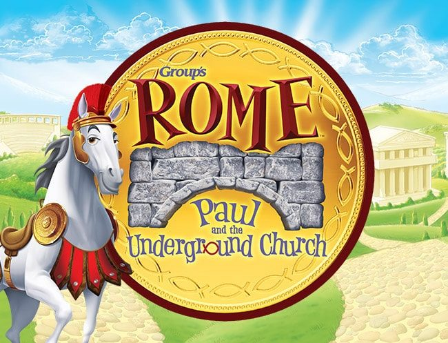Rome Holy Land Adventure VBS Logo