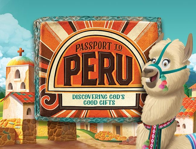 Passport to Peru Vbs Logo