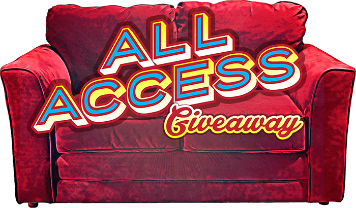 All Access Giveaway Contest Logo