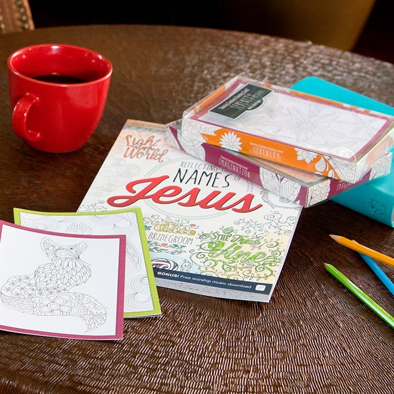 Jesus-Centered Coloring and Activity Books