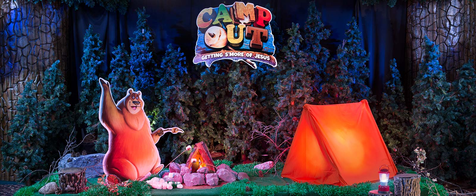 Camp Out Weekend VBS 2017 | Group Vacation Bible School ...
