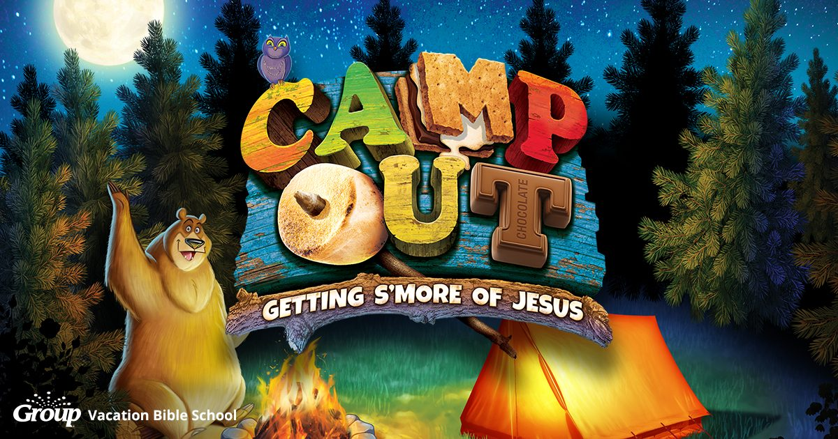 Camp Out VBS Cover Art