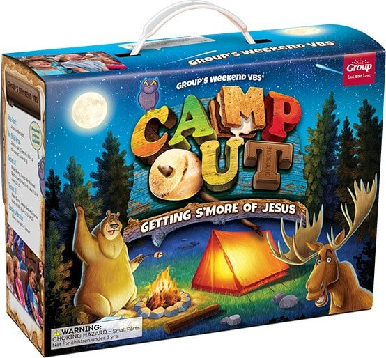 camp out weekend vbs starter kit