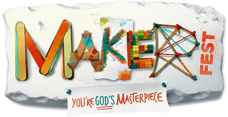 Maker Fest Fall Fest Event Logo
