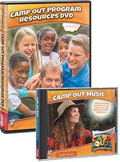 Camp Out VBS DVDs and CDs