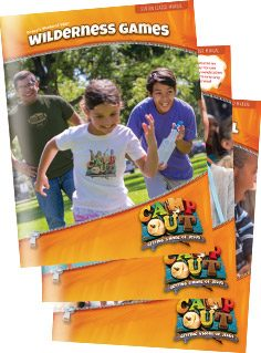 Camp Out VBS Leader Manuals