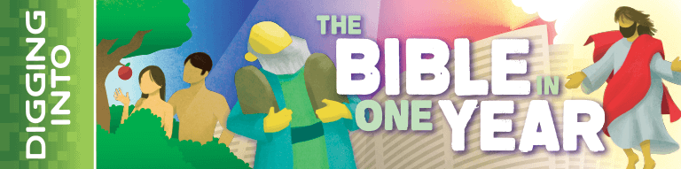 The Bible in One Year Logo