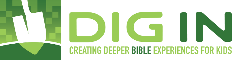 DIG IN Digital Sunday School Curriculum Logo
