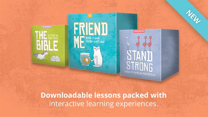 KidMin Quick Picks - Downloadable lessons packed with interactive learning experiences.