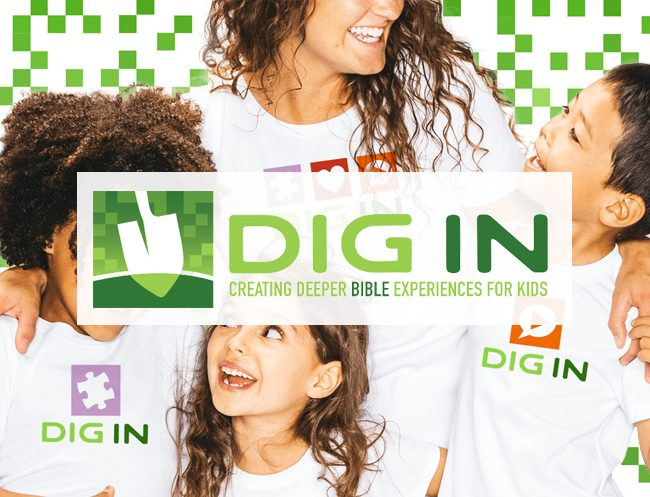 DIG IN Children's Curriculum Logo