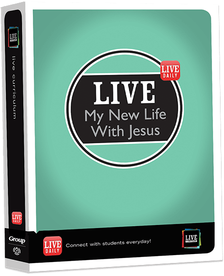 LIVE Curriculum, Youth Small Group Curriculum, Youth Bible
