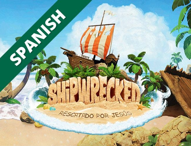 Shipwrecked Spanish Bilingual VBS Logo