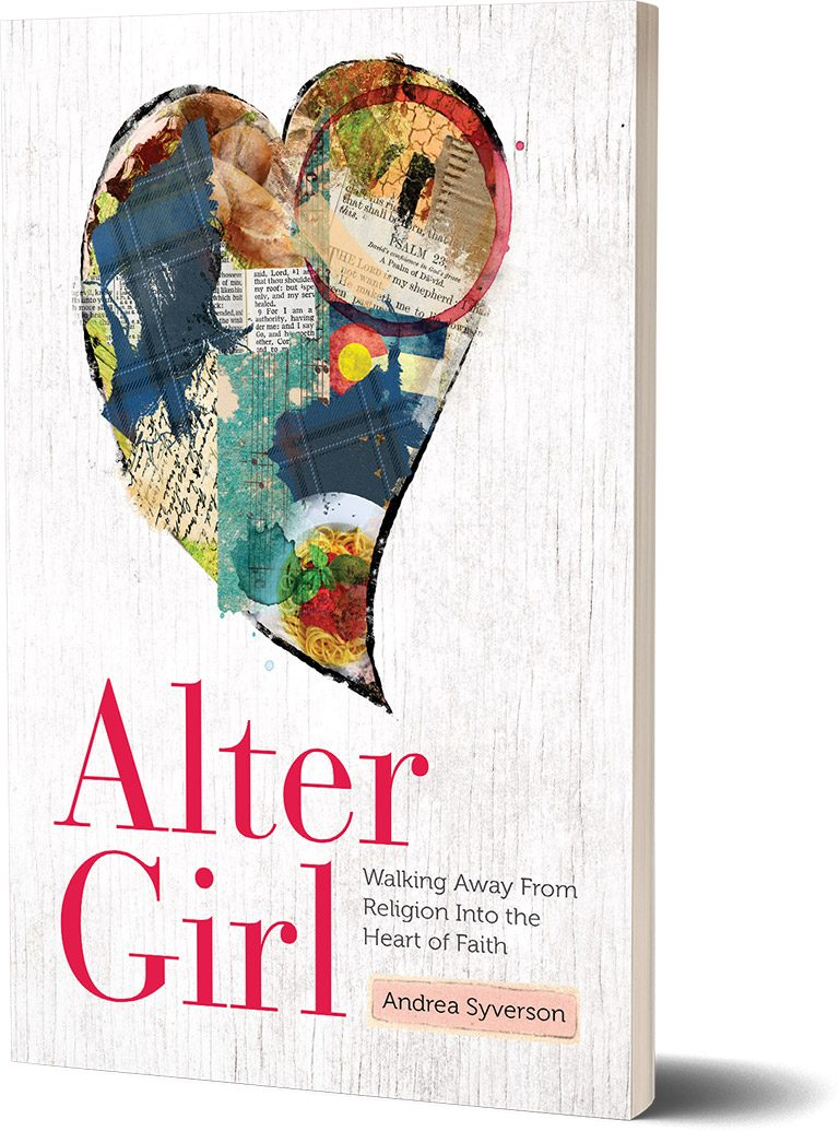 Alter Girl Book Cover 3D