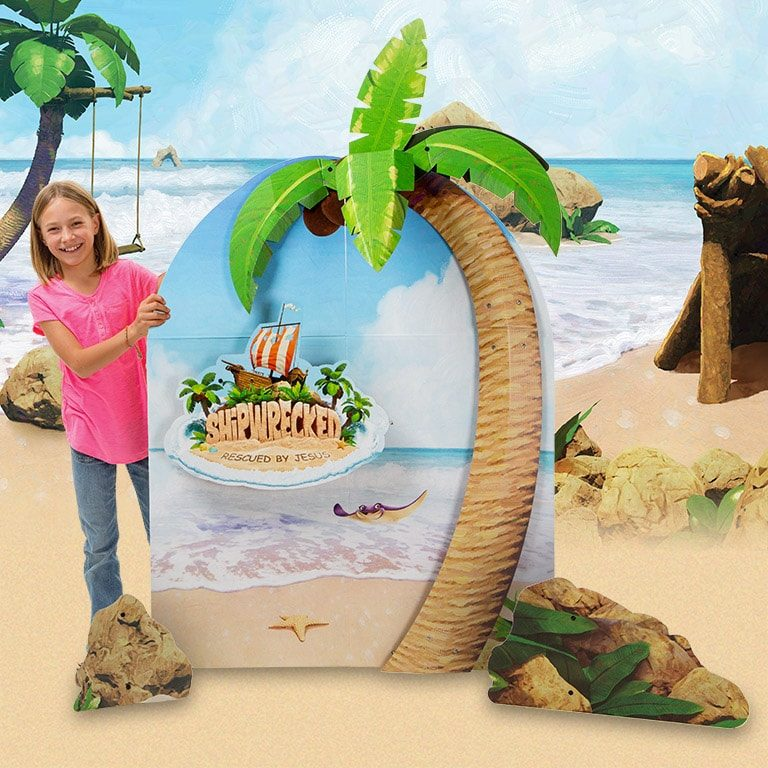 Shipwrecked VBS Photo-op Display