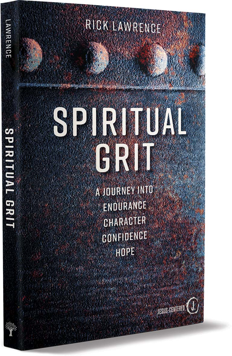 Spiritual Grit Book Cover 3D