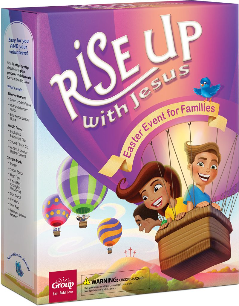 Rise Up With Jesus Easter Event Kit Box