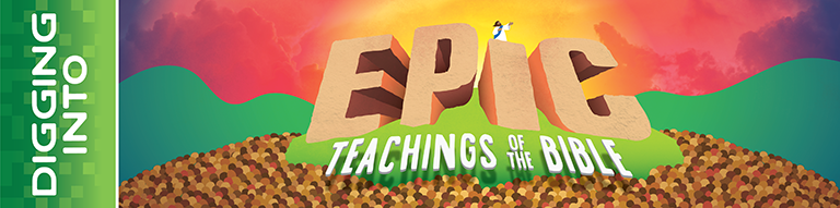 Digging Into Epic Teachings of the Bible Logo