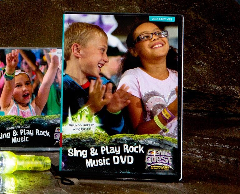 Cave Quest VBS Sing & Play Rock Music CD
