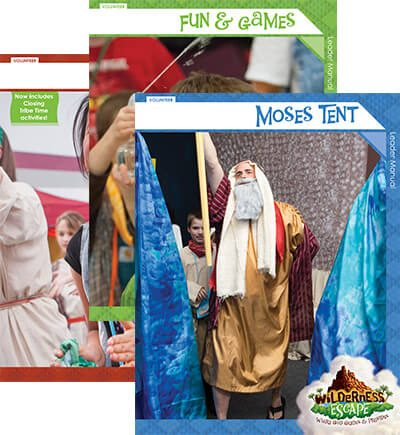 Wilderness Escape VBS Leader Manuals