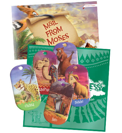 Wilderness Escape VBS Student Resource Samples