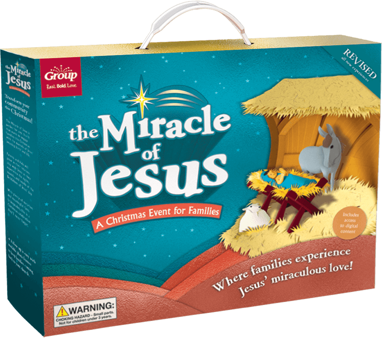 The Miracle of Jesus Christmas Event Kit