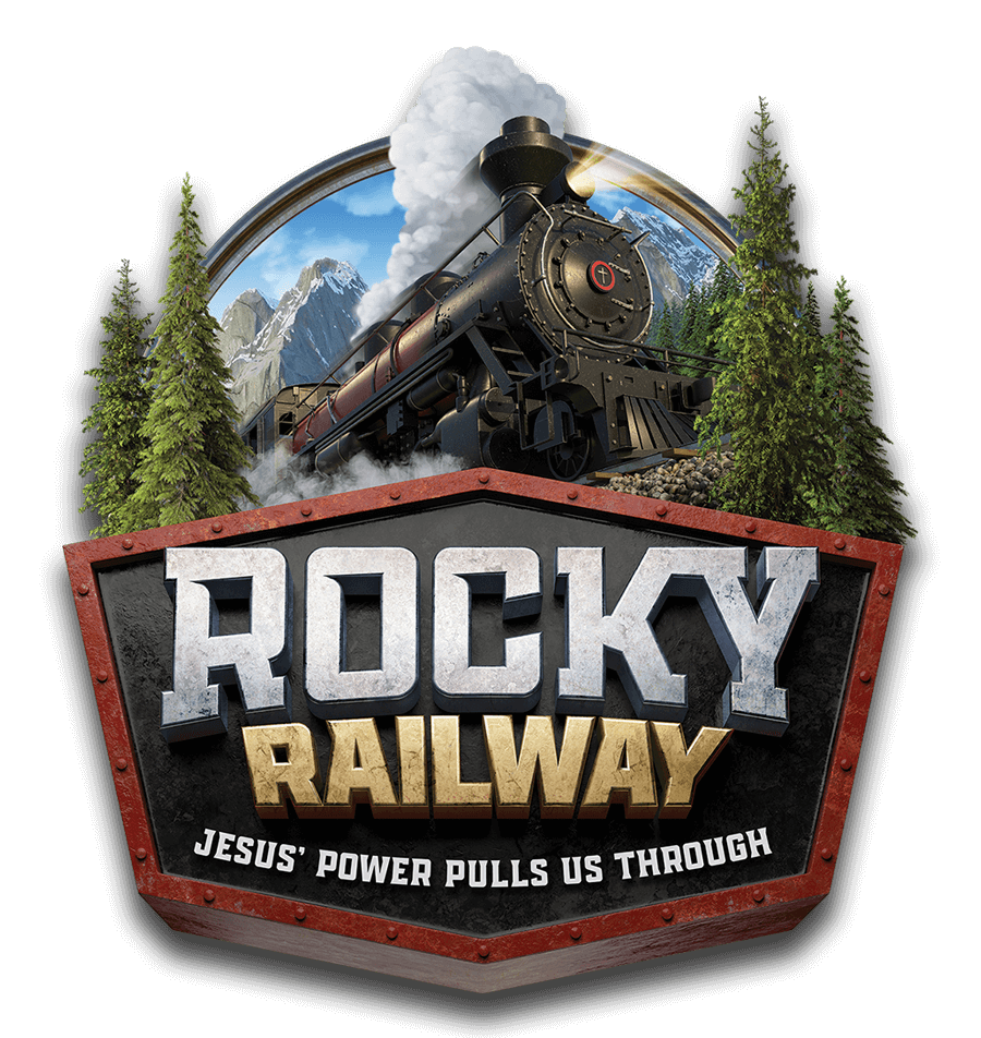 Image result for rocky railway vbs logo