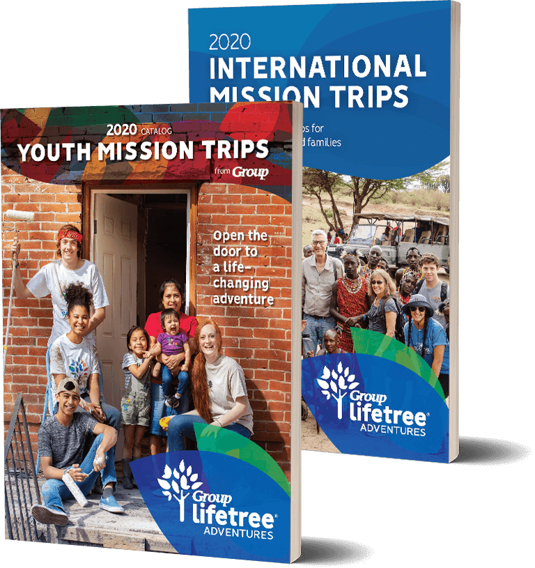 2020 Youth Mission Trips Catalog and 2020 International Mission Trips Brochure