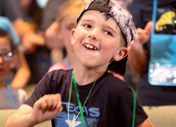 sing and play at vacation bible school